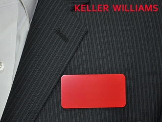 KW logo on red aluminum