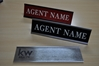 KW NAME PLATE WITH WALL HOLDER (1x8)