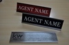 KW NAME PLATE WITH WALL HOLDER (2x8)