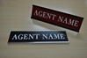 NAME PLATE WITH WALL HOLDER (1x8)